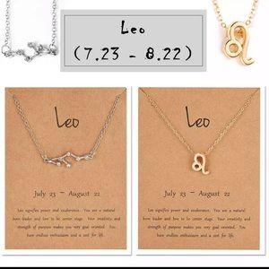 Jewelry - ✨4/$25✨ Leo Zodiac Star Constellation Necklace